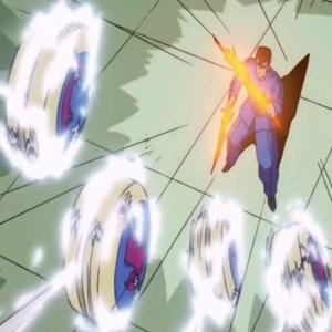 Rinku yo-yos vs kuwabara double spirit sword Yu Yu Hakusho anime Japan