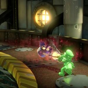 Gooigi captures Clem luigi's Mansion 3 Nintendo Switch