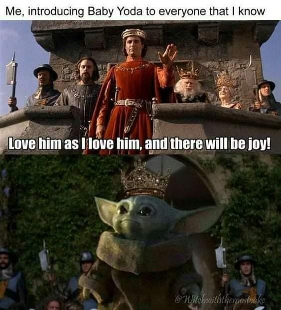 Memes The Princess bride baby Yoda