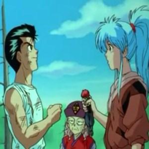 Genkai Yusuke Urameshi rando botan Yu Yu Hakusho anime Japan