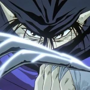Inmaki steel claws Yu Yu Hakusho anime Japan