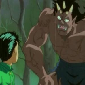 Goki true demon form Yu Yu Hakusho anime Japan