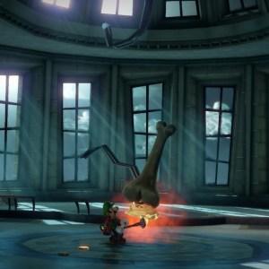 Luigi captures ug luigi's Mansion 3 Nintendo Switch