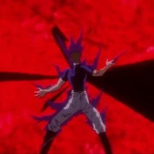 Dragon of the darkness flame vs zeru Yu yu hakusho anime Japan