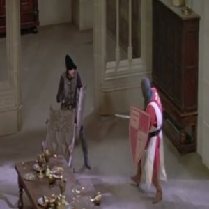 Westworld 1973 medieval world sword fight