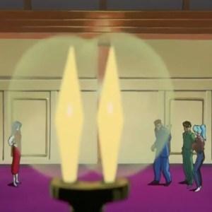 Miyuki vs kuwabara Yusuke and Botan Yu Yu Hakusho anime Japan