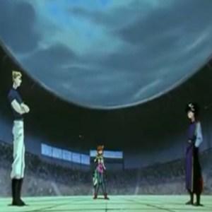 Hiei vs zeru dark tournament Yu Yu Hakusho anime Japan
