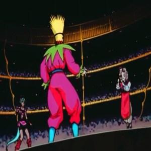 Genkai vs suzuka dark tournament semifinals Yu Yu Hakusho anime Japan