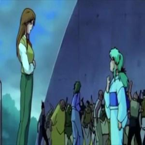 Yukina meets shizuru Kuwabara dark tournament Yu Yu Hakusho anime Japan