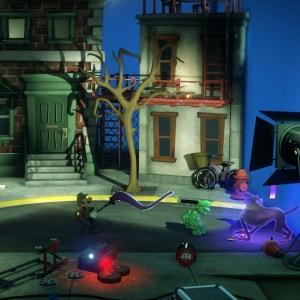 Gooigi VS Polterkitty luigi's Mansion 3 Nintendo Switch
