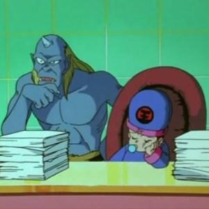 Jorge Saotome ogre and baby Koenma Yu Yu Hakusho anime Japan