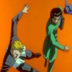 Yusuke Urameshi VS asato kido Yu Yu Hakusho anime Japan
