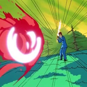 Kuwabara spirit sword VS shorin rando Yu Yu Hakusho anime Japan