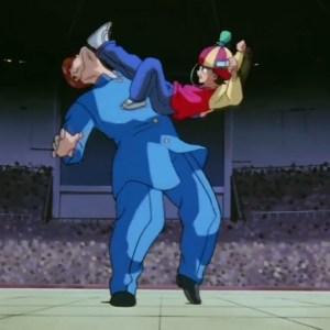 Rinku vs Kazuma Kuwabara dark tournament Yu Yu Hakusho anime Japan