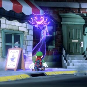 Polterkitty monster form luigi's Mansion 3 Nintendo Switch