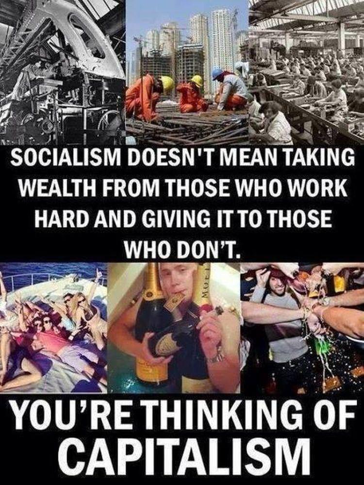 Memes Socialism versus capitalism