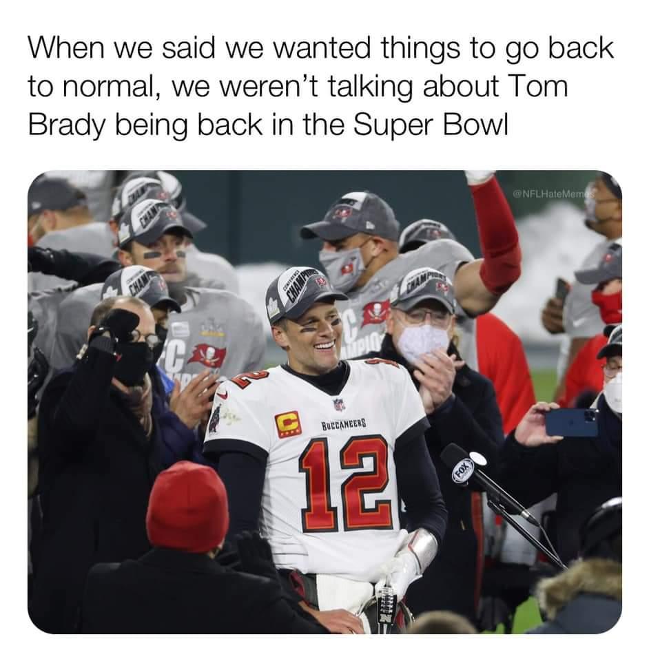 Memes Tom Brady Super Bowl Tampa Bay buccaneers