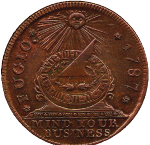Fugio cent American currency