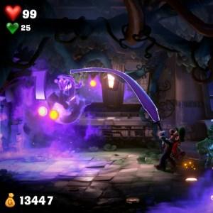 Luigi defeats Polterkitty luigi's Mansion 3 Nintendo Switch