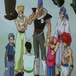 Chu demon world tournament Yu Yu Hakusho anime Japan