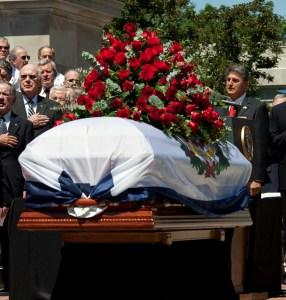 Funeral of Senator Byrd West Virginia
