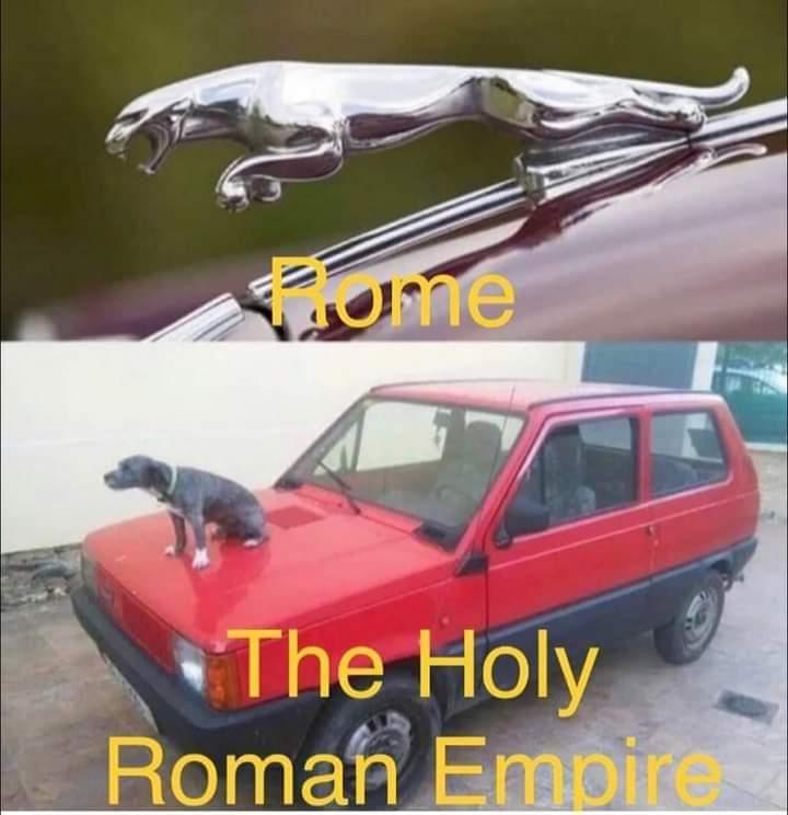 Memes Rome versus the holy Roman empire
