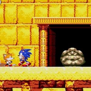 Guardian boss sonic & Knuckles Sega Genesis Sega Mega drive