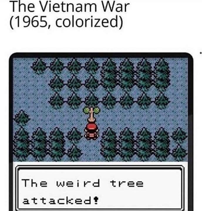 Memes Nintendo Pokémon Vietnam war