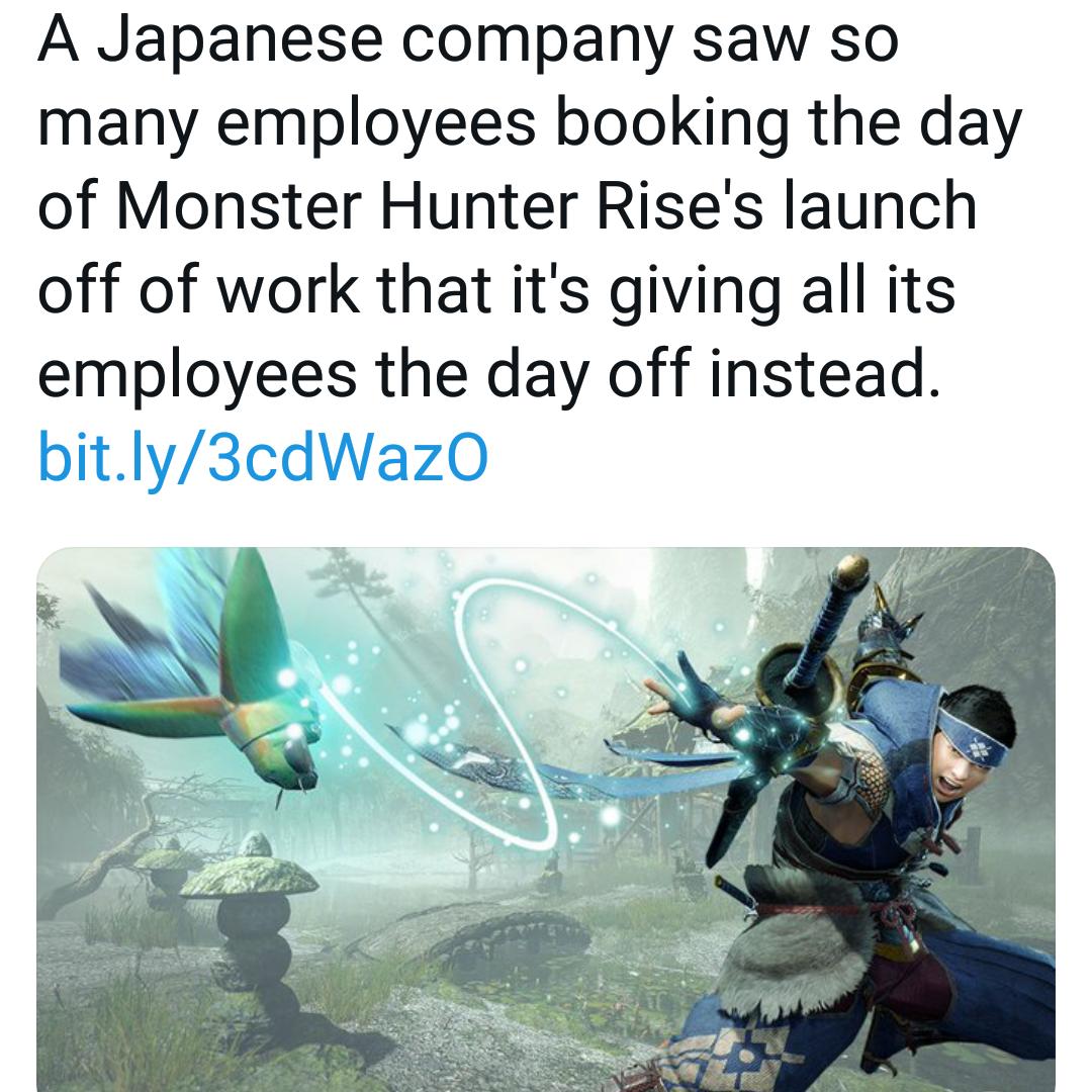 Memes Monster hunter rise
