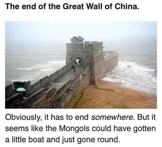 Memes The great wall of China