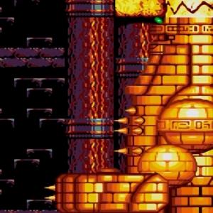Egg Golem boss sonic & Knuckles Sega Genesis Sega Mega drive