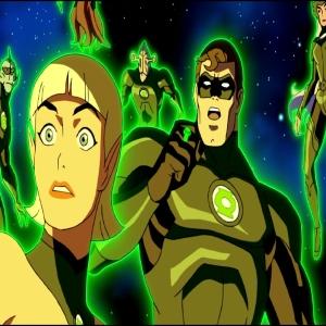Hal Jordan Arisia Rrab vs Krona Green Lantern: Emerald Knights dc comics