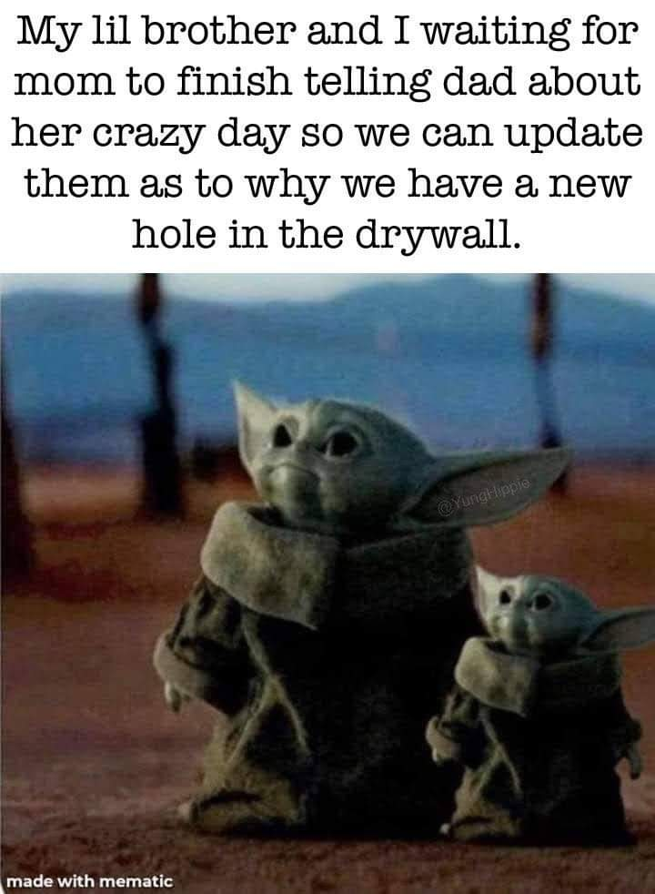 Memes Holes in the drywall