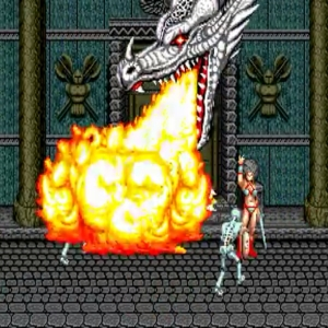 Tyris Flare dragon summon golden axe Sega genesis arcade