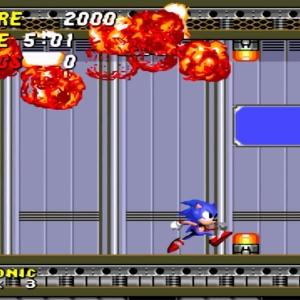 Barrier Eggman defeated Sonic the Hedgehog 2 Sega genesis Sega mega drive