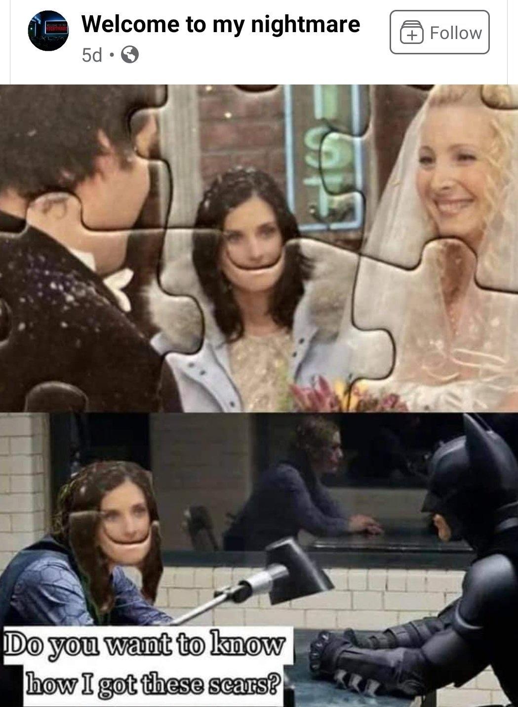 Memes Monica Geller from friends