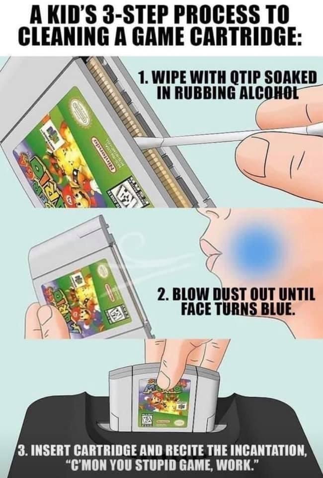 Memes Getting Nintendo 64 games to work