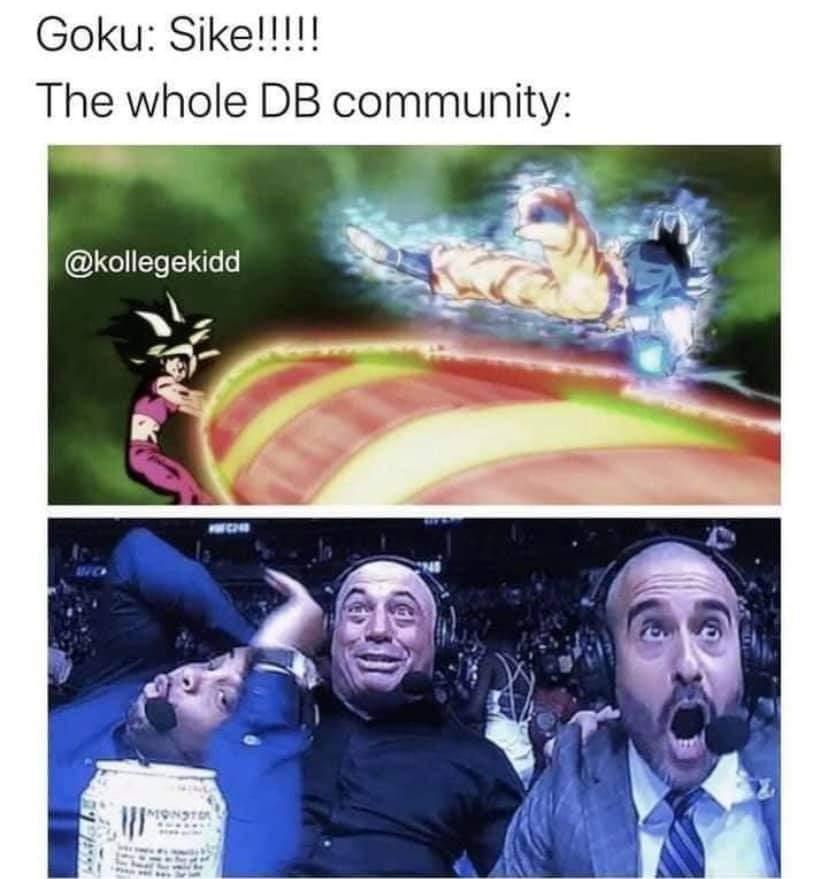 Memes kefla  Versus Goku dragon ball super anime tournament of power Kamehameha