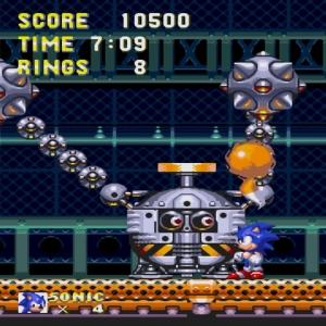 Sonic and tails vs Gapsule boss sonic & Knuckles Sega Genesis Sega Mega drive
