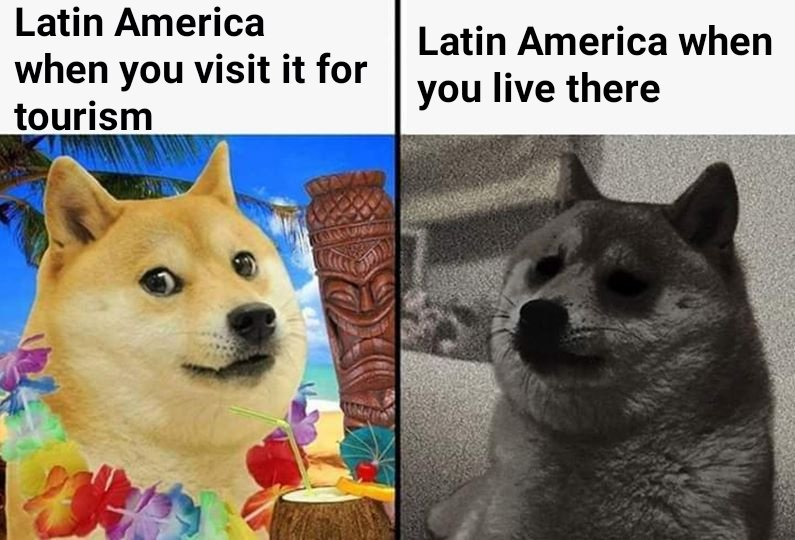 Memes Visiting Latin America