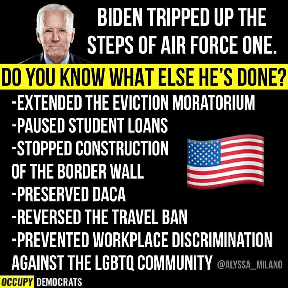 Memes What Joe Biden has done as President of the United States