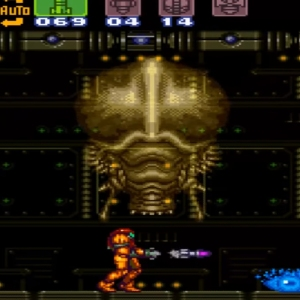 Phantoon super Metroid boss battle snes super Nintendo