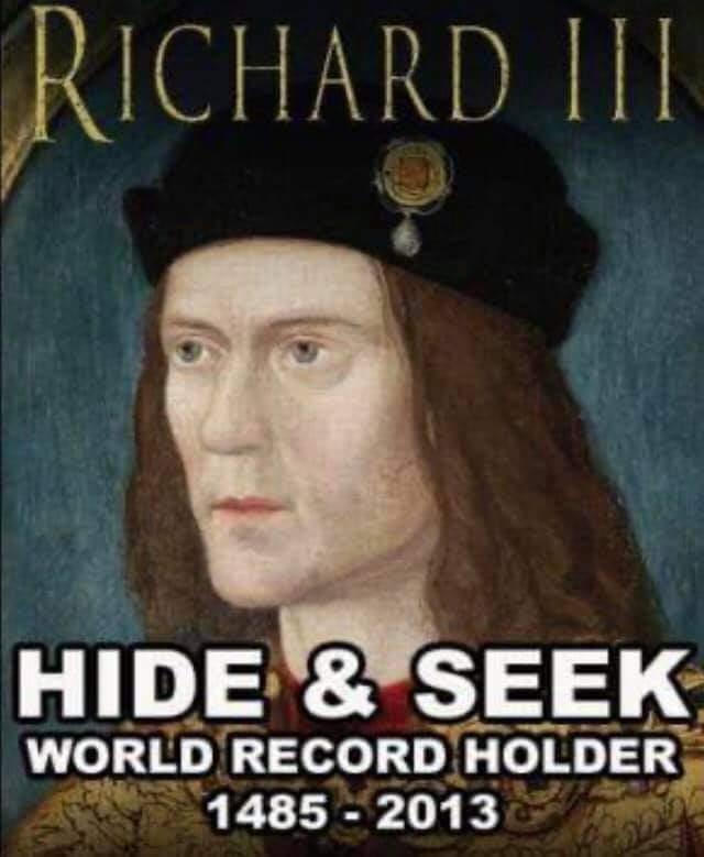 Memes Richard IIII hide and seek champion