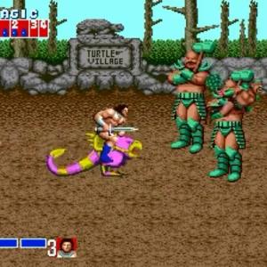 Chicken Leg ax Battler golden axe Sega genesis arcade