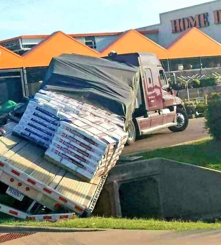 Memes Home depot truck