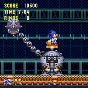 sonic & Knuckles Gapsule boss battle Sega Genesis Sega Mega drive