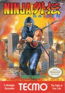 Ninja Gaiden boxart NES tecmo