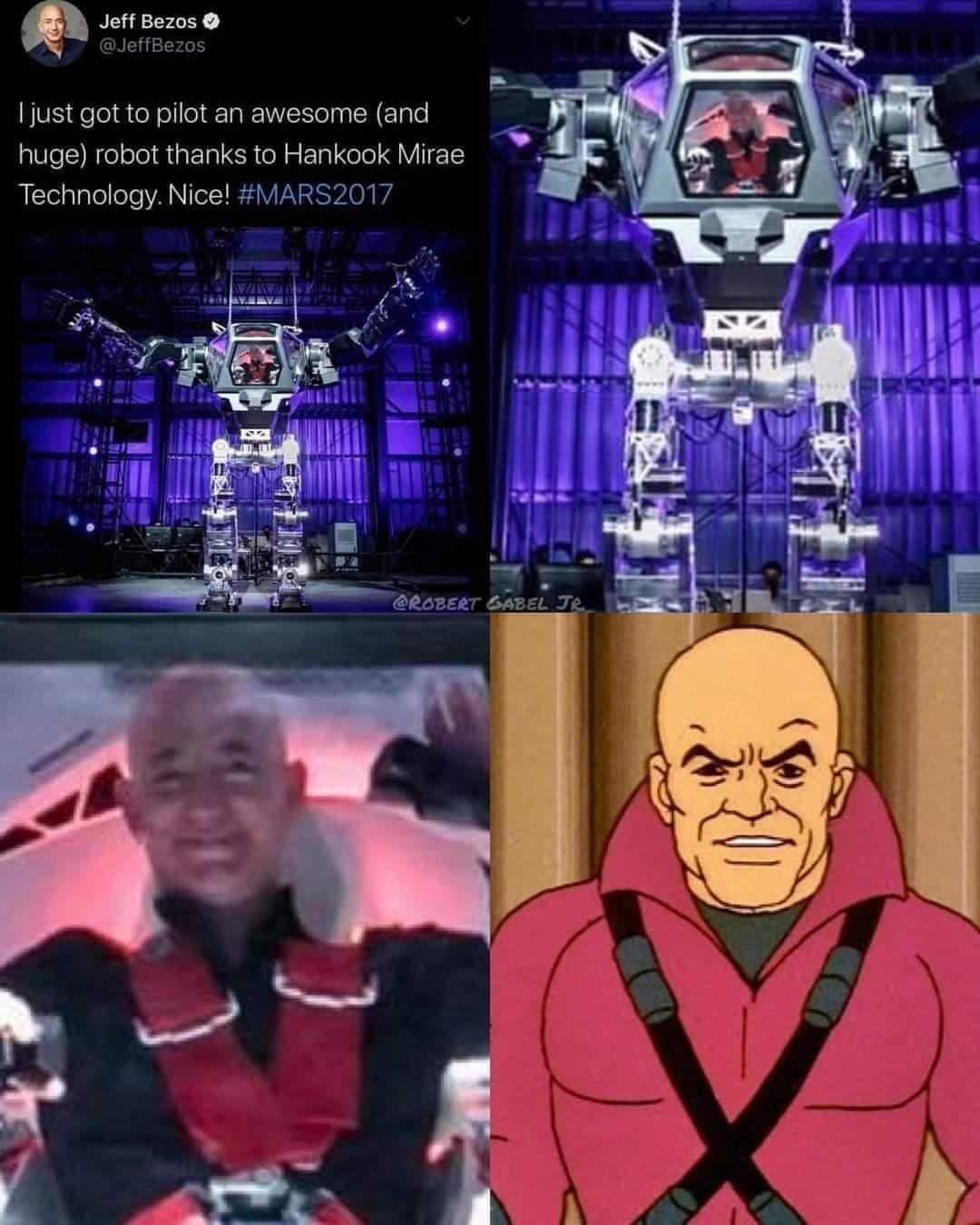 Memes Amazon Jeff Bezos Lex Luthor DC comics