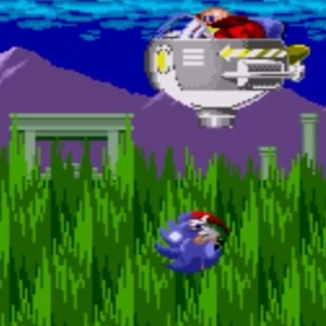 Marble Zone boss sonic the Hedgehog 1 Sega genesis Sega mega drive