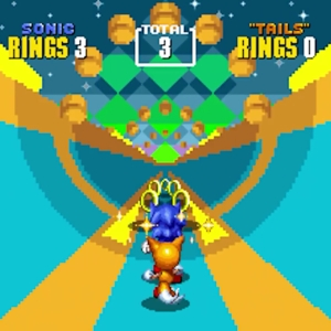 Special Stage Sonic the Hedgehog 2 sonic and tails Sega genesis Sega mega drive